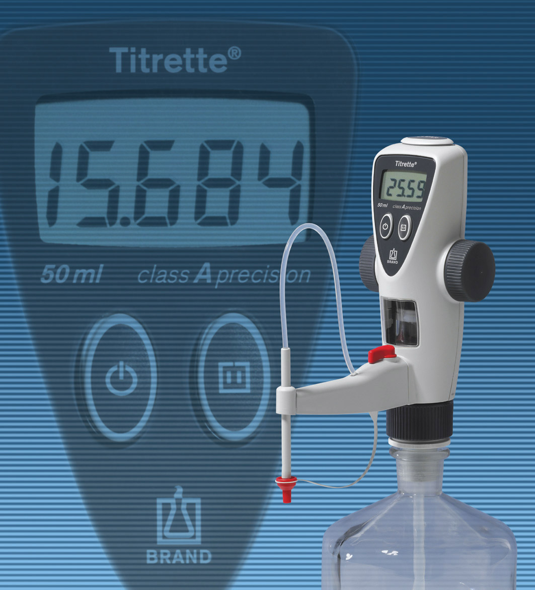 Titrette® – bottle top burette