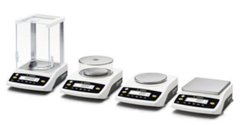 Image: Some examples of the new Entris line of laboratory balances (Photo courtesy of Sartorius).