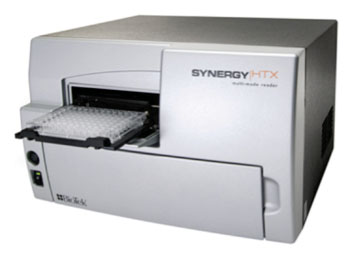 Image: The Synergy HTX Multi-Mode Microplate Reader (Photo courtesy of BioTek Instruments, Inc.).