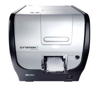 Image: The new Cytation 5 Cell Imaging Multi-Mode Reader, a modular, upgradable multimode reader that combines automated digital microscopy and conventional microplate reader with filter- and monochromator-based detection technology (Photo courtesy of BioTek Instruments).