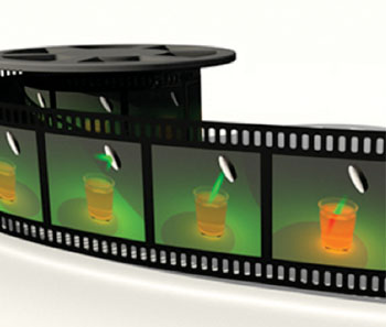 Image: Washington University engineers have developed the world's fastest receive-only 2-D camera that can capture events up to 100 billion frames per second (Photo courtesy of Washington University).