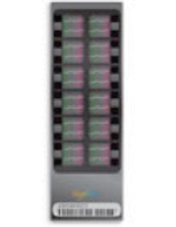 Image: HumanExome BeadChip v1.2 (12 samples) (Photo courtesy of Illumina).