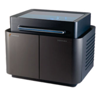 Image: The Connex Objet350 3-D printer represents the current state of the art in polymer rapid prototyping systems (Photo courtesy of Stratasys Ltd.).