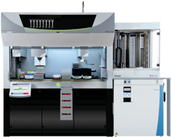 Image: The Fluent laboratory automation solution for cell-based assays (Photo courtesy of Tecan).