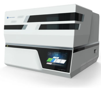 Image: The BioXp 3200 System (Photo courtesy of Synthetic Genomics Inc. (SGI-DNA Inc.)).