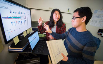 Image: Researchers have developed a powerful interactive web application and data set tool to advance understanding of the mutations that lead to and fuel pediatric cancer (Photo courtesy of St. Jude Children\'s Research Hospital).