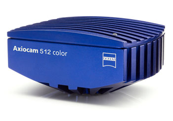 Image: The Zeiss Axiocam 512 color microscope camera (Photo courtesy of Carl Zeiss Meditec).