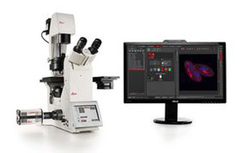 Image: The DFC9000 sCMOS microscope camera mounted to a DMi8 inverted microscope (Photo courtesy of Leica Microsystems).
